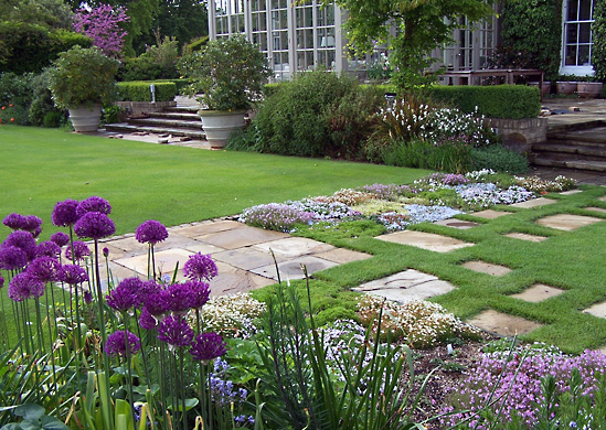 English country garden decorating style photograph english for English garden designs